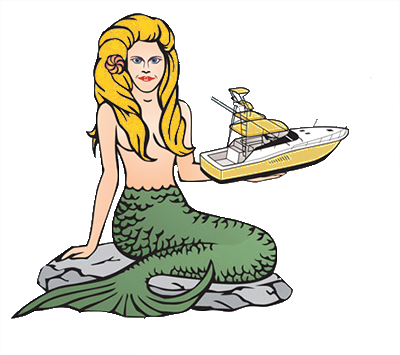mermaid marine service logo